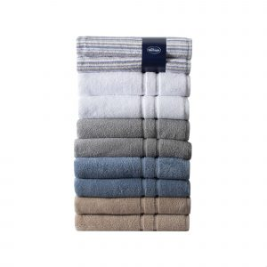 Silentnight 100% Cotton 525GSM Towels - 2 Piece Bath Sheet Set