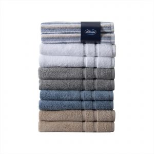 Silentnight 100% Cotton 525GSM 2 Piece Hand Towel Set