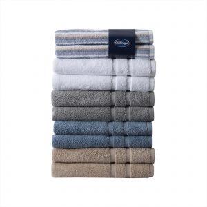 Silentnight 100% Cotton 525GSM 4 Piece Towel Set