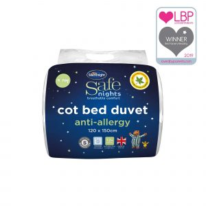 Silentnight Safe Nights Anti-Allergy Cot Bed Duvet - 4 Tog