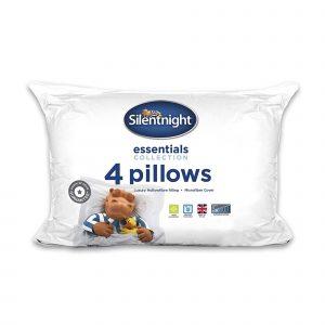 Silentnight Classic Hollowfibre Pillow - 4 Pack