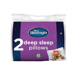 Silentnight Deep Sleep Pillow - 2 Pack