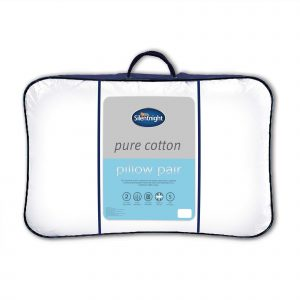 Silentnight Pure Cotton Pillow Pair