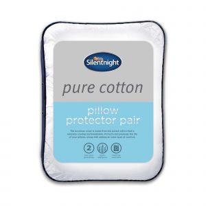 Silentnight Pure Cotton Pillow Protectors