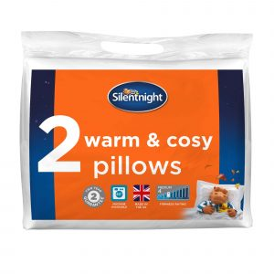 Silentnight Warm And Cosy Pillow - 2 Pack