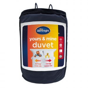 Silentnight Yours & Mine Duvets - 4.5 & 7.5 Tog