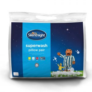 Silentnight Superwash Pillow - 2 Pack