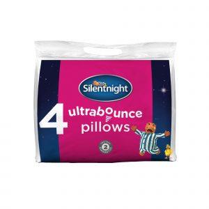 Silentnight Ultrabounce Pillows - Pack of 4